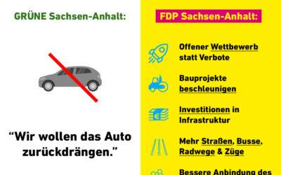 Die Grünen schreiben den ländlichen Raum in Sachsen-Anhalt ab